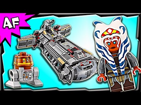 Lego Star Wars Rebel COMBAT FRIGATE 75158 Stop Motion Build Review