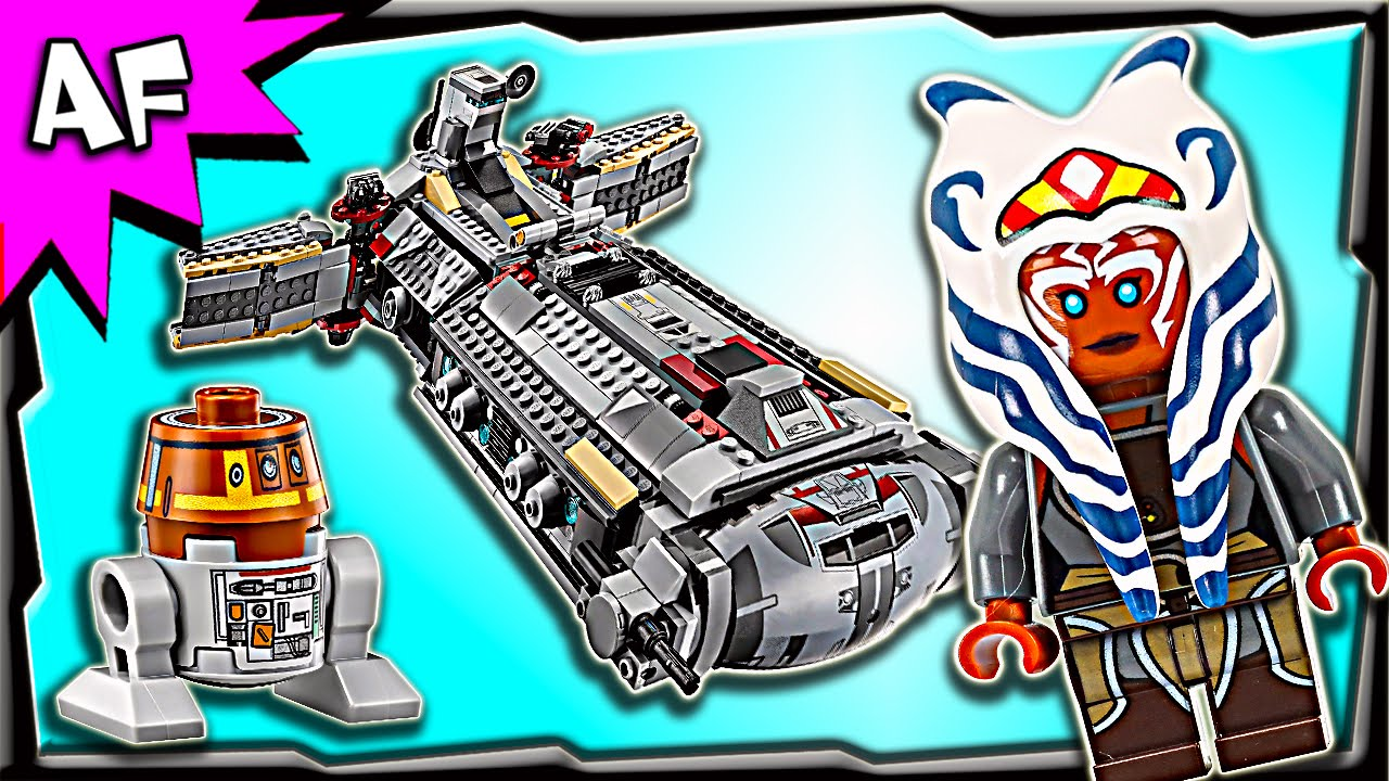 Lego Star Wars Rebel Combat Frigate 75158 Stop Motion Build Review 75157 Captain Rexamp039s At Te