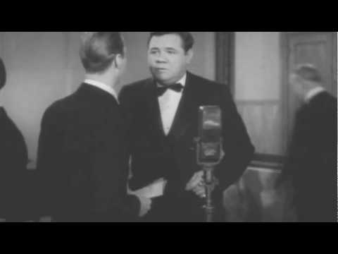 Babe Ruth and Zez Confrey in Home Run on the Keys 1937