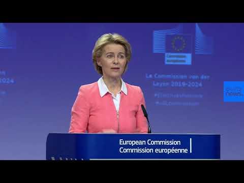 LIVE | European Commission President- Elect Ursula Von der Leyen unveils new Commissioners.