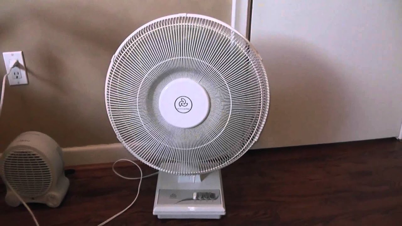 Gumtree Desk Fan : Quot canarm oscillating table fan youtube