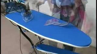 видео Гладильный стол Lelit PА 71