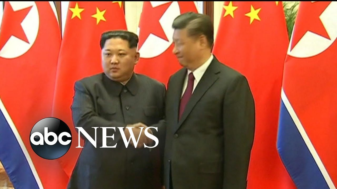 North Korea and China confirming reports of meeting in Beijing
