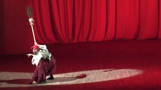 """""""Баба Яга""""-хореографическая миниатюра на музыку М.Мусорского. Хореография Якобсона."""