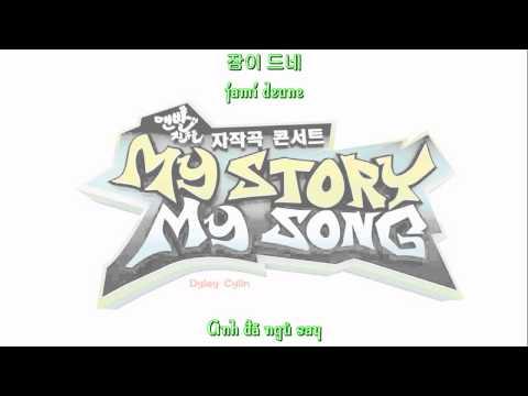 [Vietsub/Roman/Hangul] 1 Minute Ago (1분 전) - Kang HoDong Ft. Jung EunJi (Apink)
