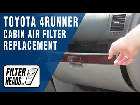 How To Replace Cabin Air Filter Toyota 4runner Youtube. How To Replace Cabin Air Filter Toyota 4runner. Toyota. 4runner Intake 3 4toyota Diagram At Scoala.co