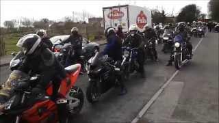 Dirty Dozen MCC Ireland Poker Run 1 March 2014