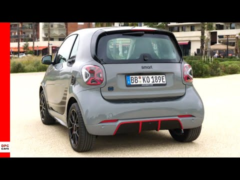 2020 Smart EQ Fortwo Edition One asphalt grey