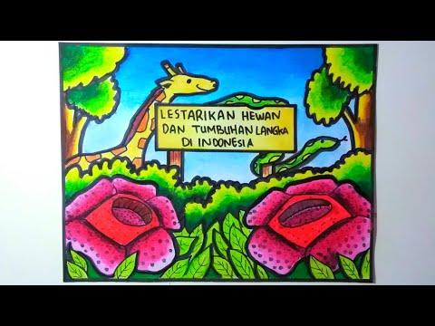 Poster Tentang Pelestarian Hewan Dan Tumbuhan Youtube