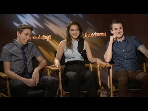 "Watch 'Goosebumps' Actors Dylan Minnette, Ryan Lee & Odeya Rush Play ""Save or Kill"""