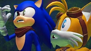Sonic Boom Rise of Lyric #02: Ouriço Azul corre como Jesus - Exclusivo Nintendo Wii U