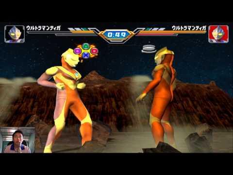 Sieu Nhan Game Play   Trận đấu Ultraman Theo yêu cầu 22-12 #1   Game Ultraman figting eluvation 3