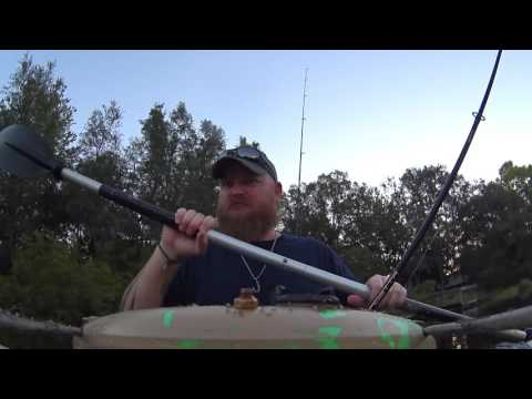 ant-attack-while-kayak-bass-fishing-w/-my-lucky-tackle!..broke-yakin