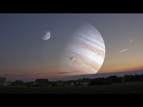 If Earth were a  Moon of Jupiter