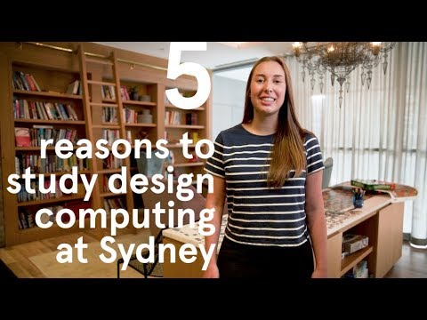Bachelor of Design Computing at the University of Sydney