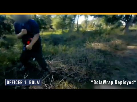 Bodycam Footage Captures BolaWrap® In Use: Beaufort, South Carolina