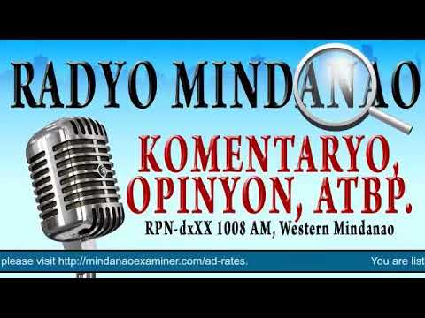 Radyo Mindanao March 8, 2018