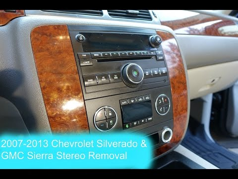 2007-2013-chevrolet-silverado-and-gmc-sierra-radio-removal-!!!!