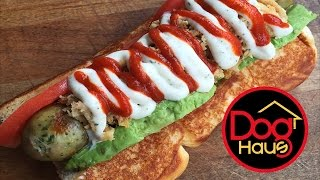 The Dog Haus The Hot Chick Hot Dog Review - WE Shorts