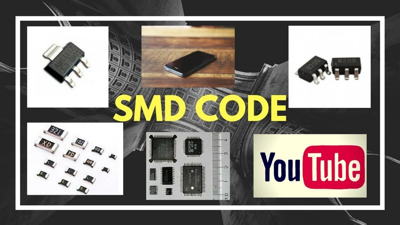 SMD Marking Codes !! How to confirm any Electronics Components by smd codes