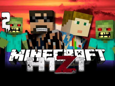 Minecraft H1Z1 [2] | Take over Cumernauld!!