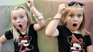 Handcuffed to My Twin For 24 Hours!