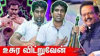 Super Singer Parthiban Emotional | Singer SPB Songs, Vijay Tv