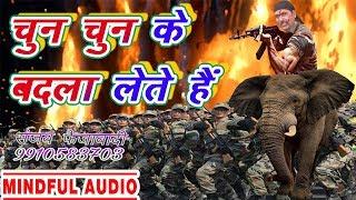Deshbhakti Biggest Hit Song 2019 @ चुन चुन के बदला लेते हैं @ Sanjay Faizabadi @ देश को समर्पित Song