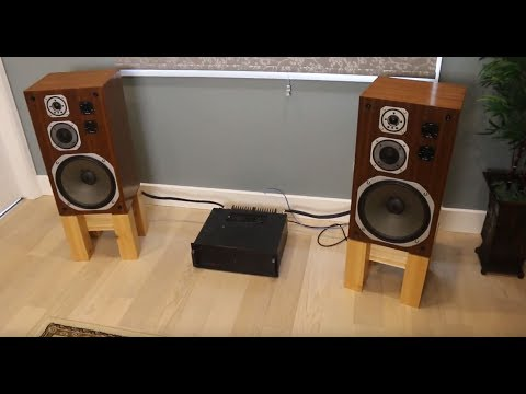 Speaker Stands --- Step by step DIY build --- for Yamaha NS-690's