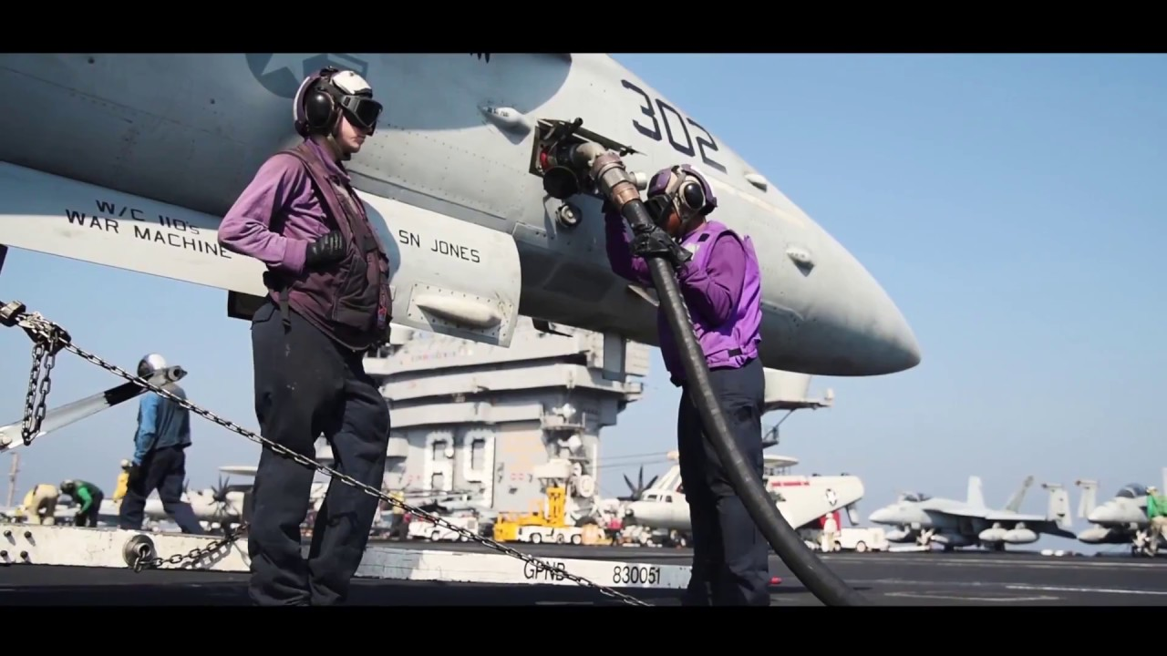 Aviation Boatswain's Mates (Fuels) Feature - YouTube