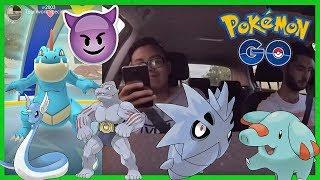 ARENA Überraschungen ? & Scanner Tour! - Pupitar, Dragonir, Relaxo und Maschock! Pokemon Go!