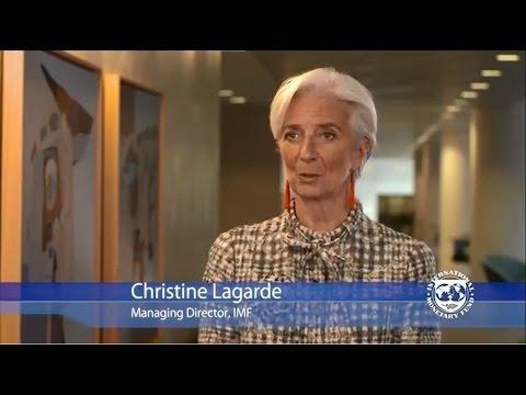 Christine Lagarde Celebrates International Women's Day