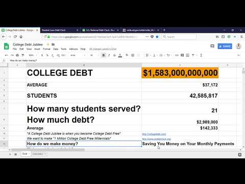 Reduce Your Monthly Student Loan Payments with College Debt Jubilee