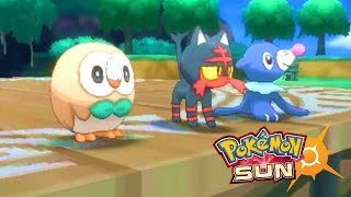Pokémon Sun & Pokémon Moon Revealed - Pokémon Sun Gameplay - Pokémon Moon Gameplay Trailer