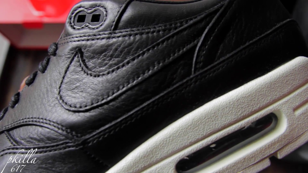 official photos 8bc4f 5c530 NikeLab Air Max 1 Pinnacle BLACK REVIEW AND ON FEET