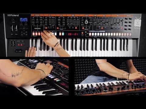 Roland Jupiter X - NO TALKING DEMO