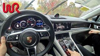 2017 Porsche Panamera TURBO - Tedward POV Test Drive (Binaural Audio)