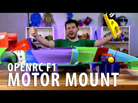 Worlds Largest OpenRC F1 Car - Phase 6 // New Motor Mount And Testing!