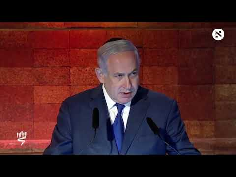 Netanyahu threatens Iran in his Holocaust memorial speech