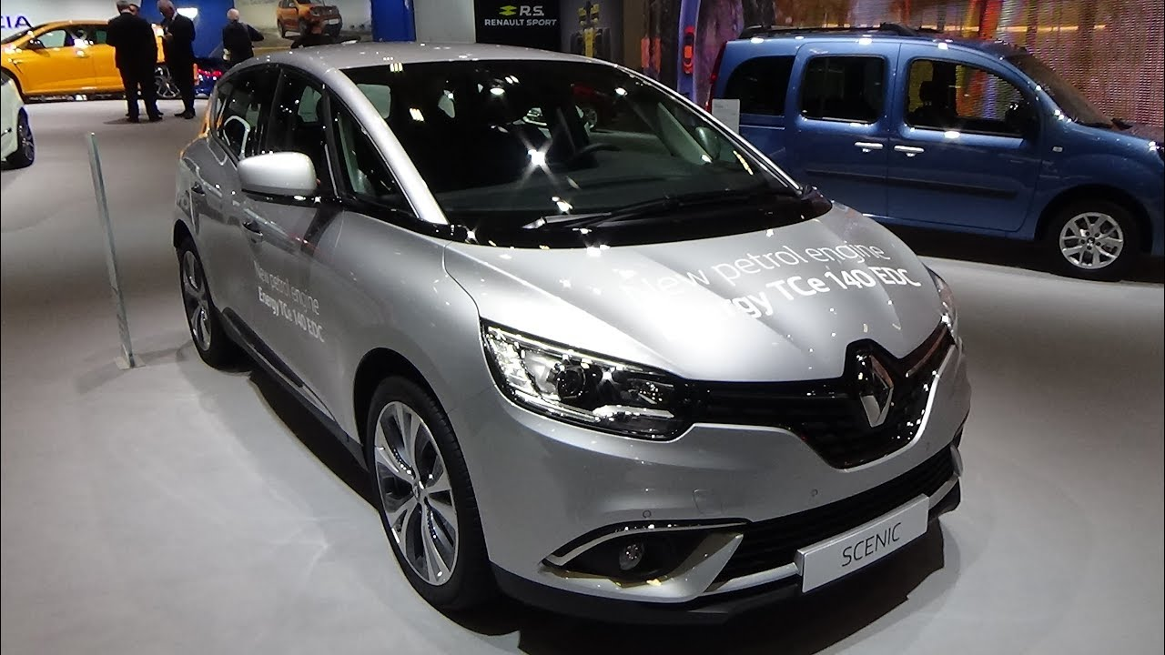 2018 renault scenic intens energy tce 140 edc exterior and interior auto show brussels 2018