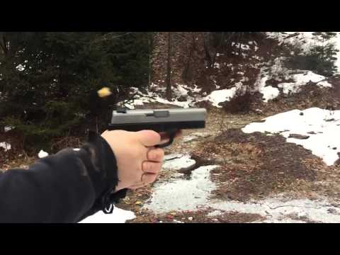 Slow motion Smith & Wesson SW9VE