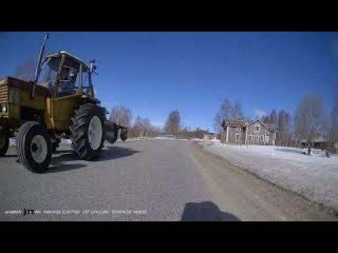 First Ride This Year, BMW R1200 GSA &INNOVV K5 Motorcycle Dashcam. April 3 2021 Sweden.