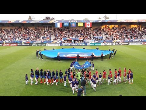 France Canada (Auxerre, 23 Juillet 2016)