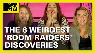 8 Jaw-Dropping 'Room Raiders' Discoveries 👀   MTV Ranked