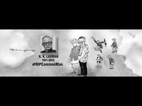 R. K. Laxman life journey