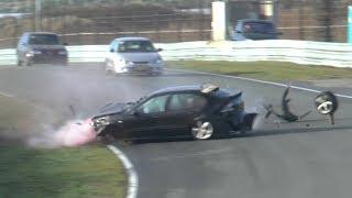 Seat Leon Big Crash - Circuit Zandvoort