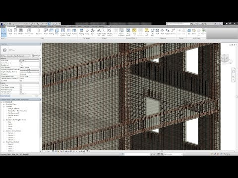 Revit 2016 - Improved Rebar Display Performance and Placement Precision