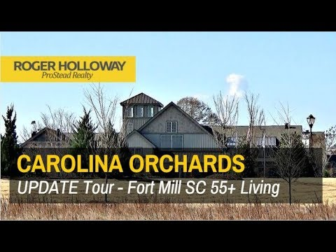 Fort Mill SC 55+ Living near Charlotte - Carolina Orchards