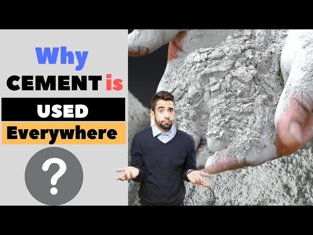 Why Do We Use Cement in Construction |  Uses of Cement