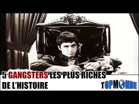 5 GANGSTERS Les Plus RICHES De L'Histoire